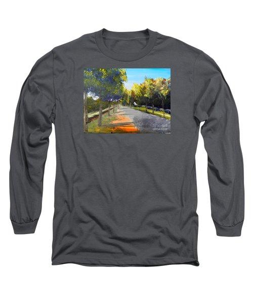 Maldon Victoria Australia Long Sleeve T-Shirt by Pamela  Meredith