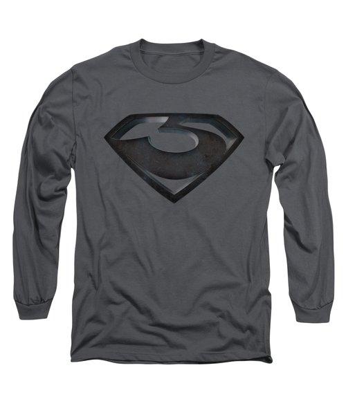 Man Of Steel - Zod Shield Long Sleeve T-Shirt