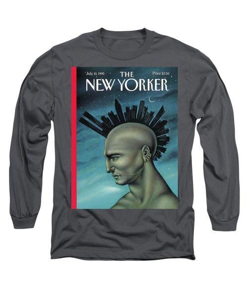 Mohawk Manhattan Long Sleeve T-Shirt