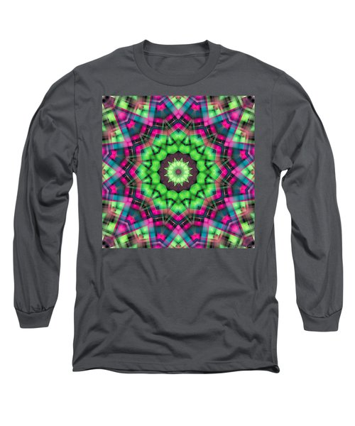Long Sleeve T-Shirt featuring the digital art Mandala 29 by Terry Reynoldson