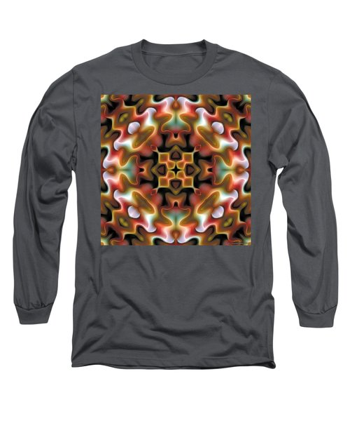 Long Sleeve T-Shirt featuring the digital art Mandala 76 by Terry Reynoldson