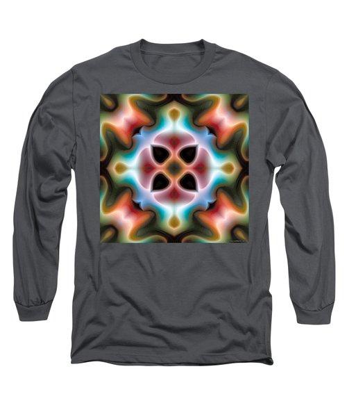 Long Sleeve T-Shirt featuring the digital art Mandala 82 by Terry Reynoldson