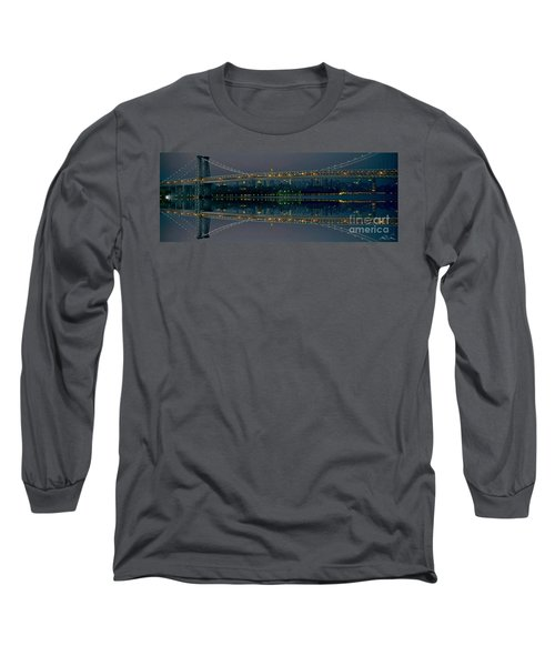 Manhattan Bridge New York Long Sleeve T-Shirt