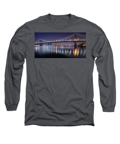 Manhattan Reflections  Long Sleeve T-Shirt