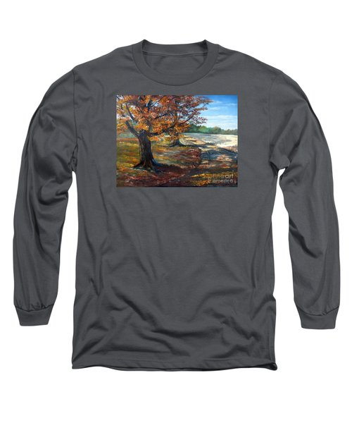 Maple Lane Long Sleeve T-Shirt by Lee Piper