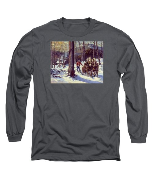 Maple Sugar Time Long Sleeve T-Shirt