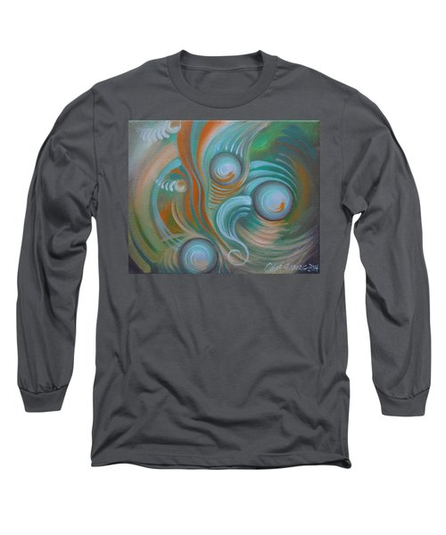 Marble Madness Long Sleeve T-Shirt