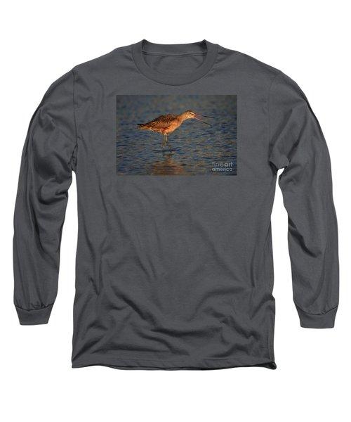 Marbled Godwit Call Long Sleeve T-Shirt