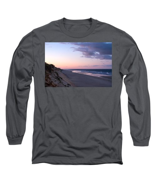 Marconi Beach At Dusk Long Sleeve T-Shirt