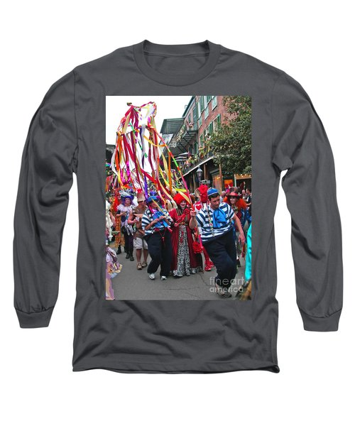 Mardi Gras In New Orleans Long Sleeve T-Shirt