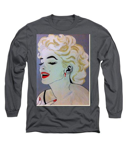 Marilyn Monroe Beautiful Long Sleeve T-Shirt