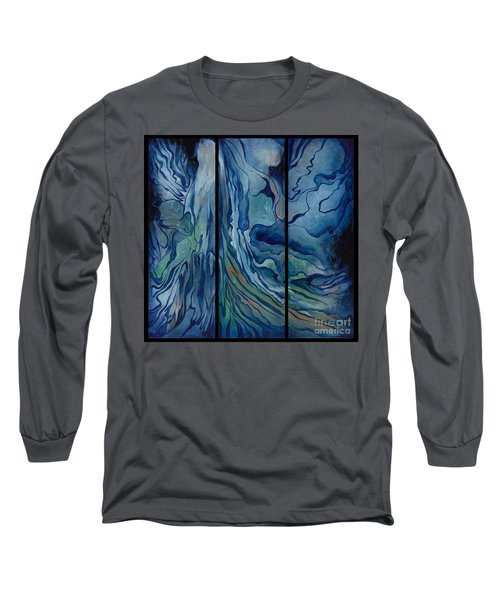 Marina Triptych Long Sleeve T-Shirt