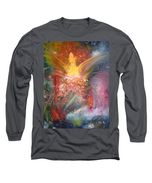 Mariposa Long Sleeve T-Shirt by Julio Lopez
