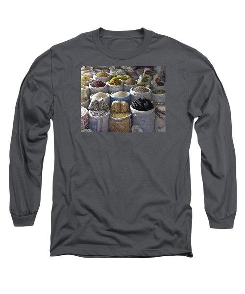 Market - Cusco Peru Long Sleeve T-Shirt
