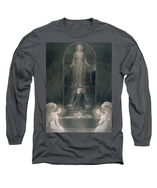 Mary Magdalene At The Sepulchre Long Sleeve T-Shirt