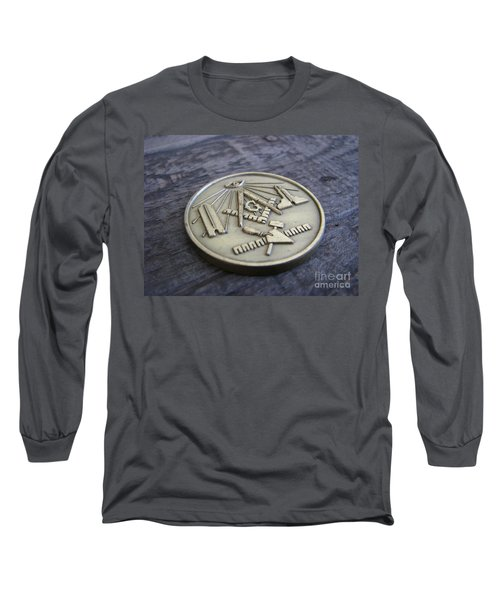 Masonic Medal Long Sleeve T-Shirt