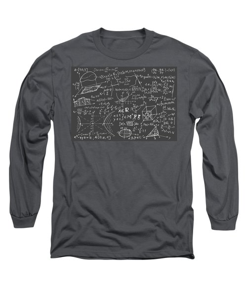 Maths Blackboard Long Sleeve T-Shirt