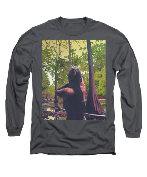 May Morning Arkansas River 5 Long Sleeve T-Shirt