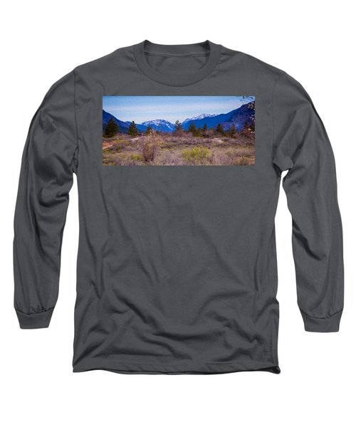 Long Sleeve T-Shirt featuring the photograph Mazama From Wolf Creek by Omaste Witkowski