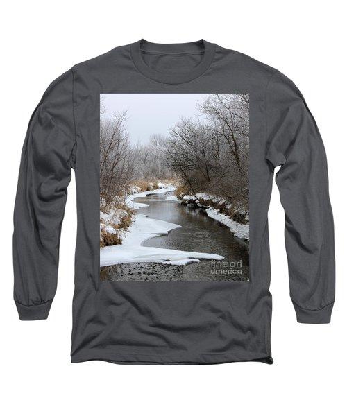 Meandering Geese Long Sleeve T-Shirt