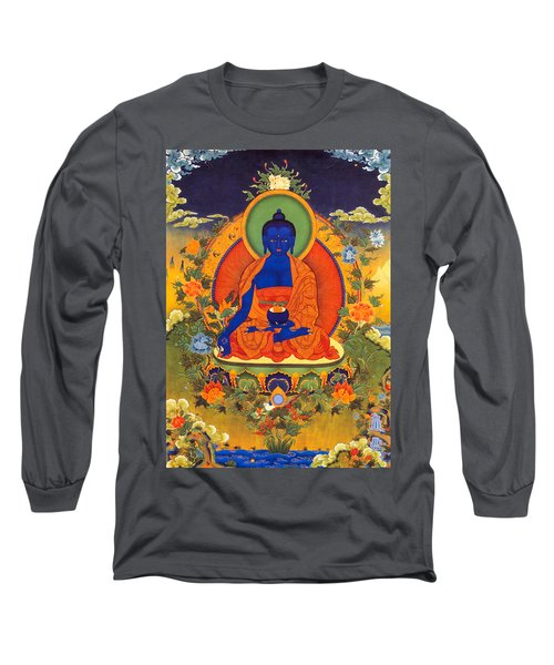 Medicine Buddha Long Sleeve T-Shirt