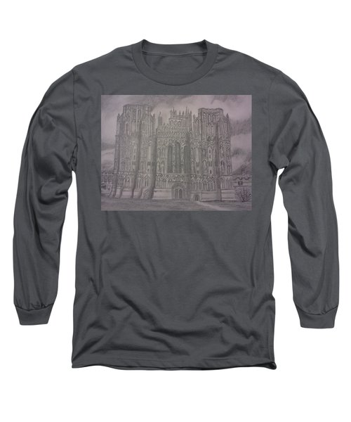Medieval Cathedral Long Sleeve T-Shirt by Christy Saunders Church