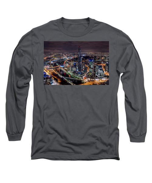 Melbourne At Night IIi Long Sleeve T-Shirt