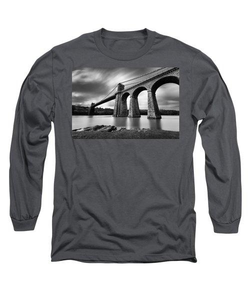 Menai Suspension Bridge Long Sleeve T-Shirt