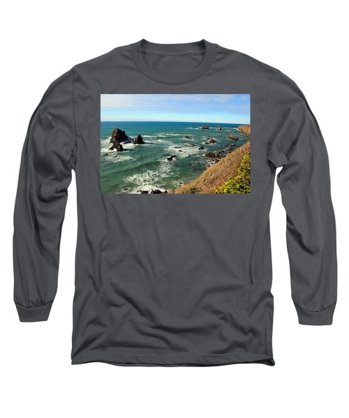 Mendocino Rocks Long Sleeve T-Shirt
