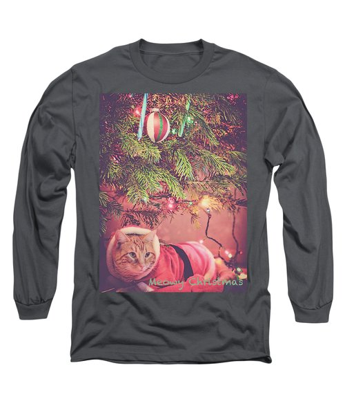 Meowy Christmas Long Sleeve T-Shirt
