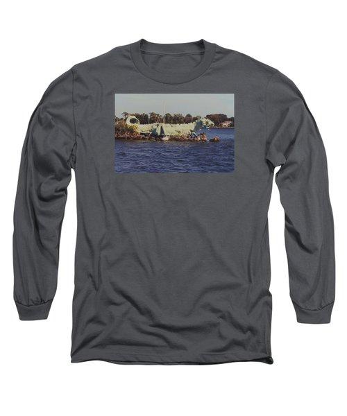 Long Sleeve T-Shirt featuring the photograph Merritt Island River Dragon by Bradford Martin