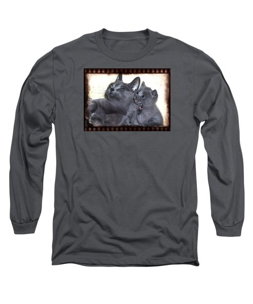 Mess With My Ma I'll Scratch Your Eyes Out Long Sleeve T-Shirt