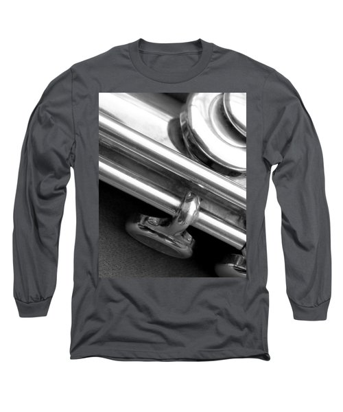 Long Sleeve T-Shirt featuring the photograph Metallic  by Lisa Phillips