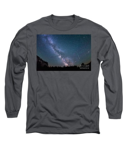 Meteor Milky Way  Long Sleeve T-Shirt