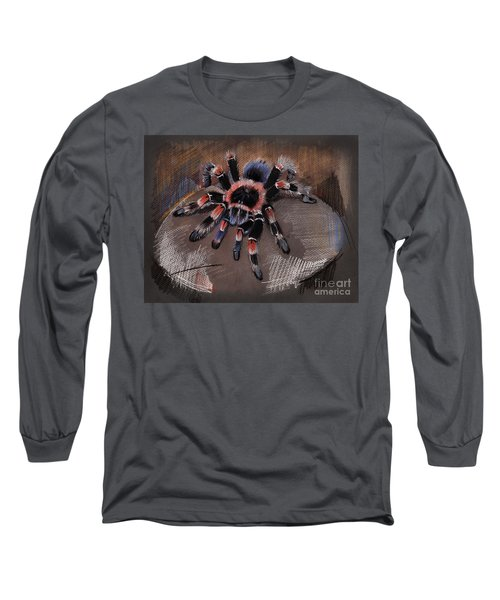 Mexican Redknee Tarantula Long Sleeve T-Shirt