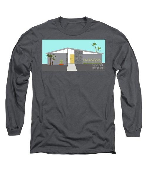 Mid Century Modern House 2 Long Sleeve T-Shirt