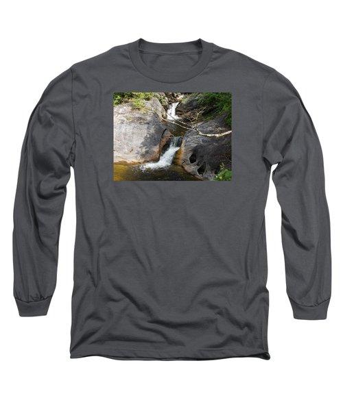 Middle Kent Falls Long Sleeve T-Shirt