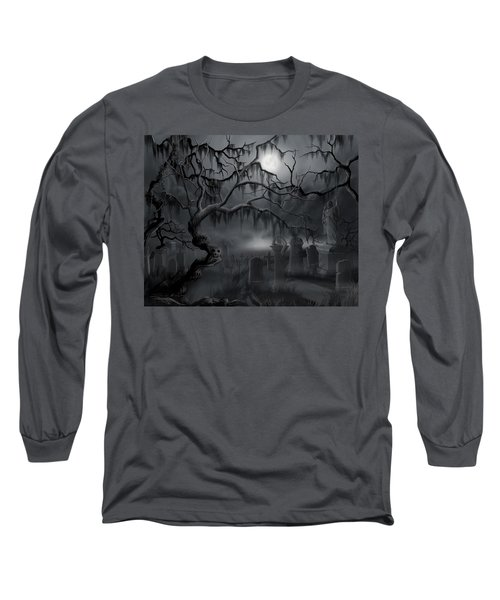 Midnight In The Graveyard  Long Sleeve T-Shirt