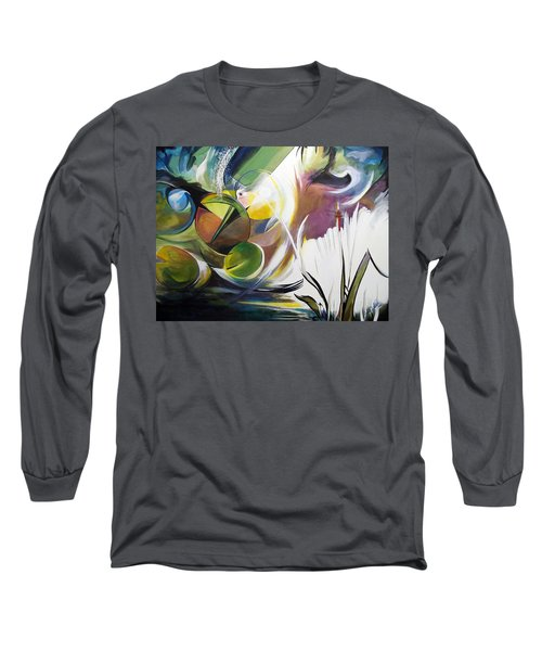 Midnight On The Bayou Long Sleeve T-Shirt