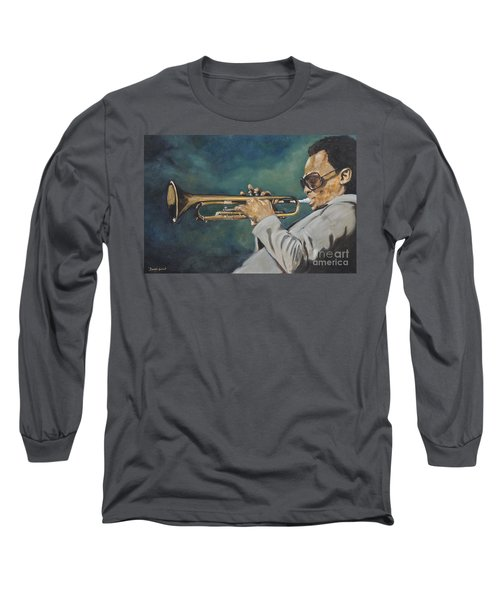Miles Davis - Solo Long Sleeve T-Shirt