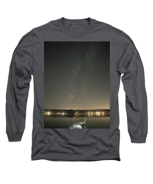 Milky Way Spills Into Conesus Long Sleeve T-Shirt