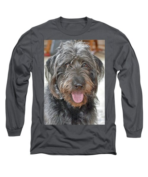 Long Sleeve T-Shirt featuring the photograph Milo by Lisa Phillips