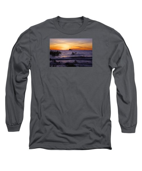 Mindil Beach Sunset Long Sleeve T-Shirt by Venetia Featherstone-Witty