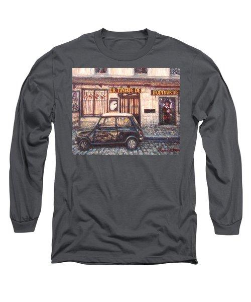 Mini De Montmartre Long Sleeve T-Shirt by Quin Sweetman