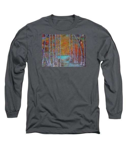 Minnesota Sunset Long Sleeve T-Shirt