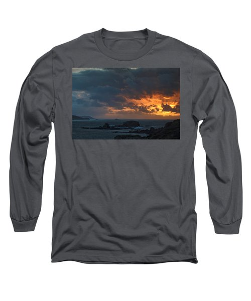 Long Sleeve T-Shirt featuring the photograph Mirandas Islands Galicia Spain by Pablo Avanzini