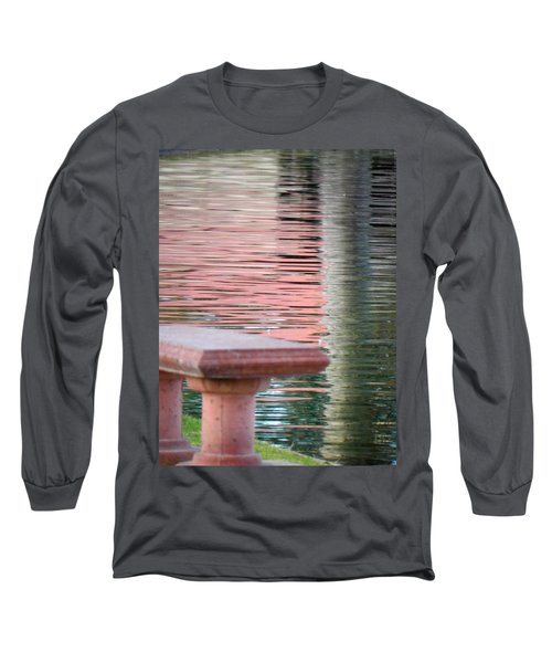 Long Sleeve T-Shirt featuring the photograph Mirror To The Soul by Deb Halloran