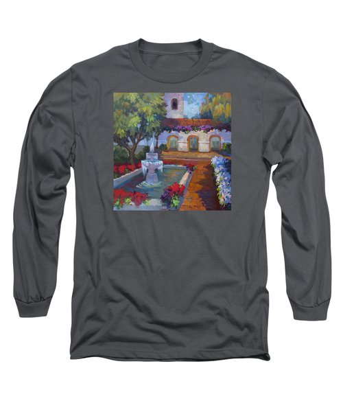 Mission Via Dolorosa Long Sleeve T-Shirt by Diane McClary