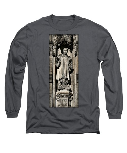 Mlk Memorial Long Sleeve T-Shirt by Stephen Stookey
