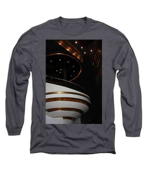 Long Sleeve T-Shirt featuring the photograph Modern Loge by Kristin Elmquist